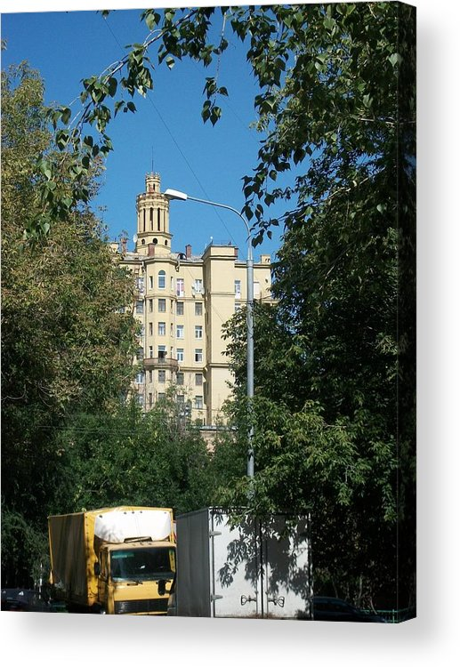 Stalin Acrylic Print featuring the photograph Stalin's Style 2 by James Hanemaayer