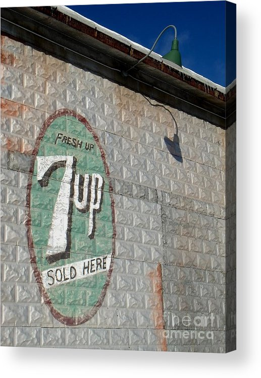 Seven Acrylic Print featuring the photograph Still Just A Nickel by The Stone Age