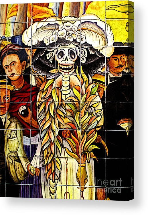 Mexicolors.com Acrylic Print featuring the photograph Story Of Mexico 7 by Mexicolors Art Photography