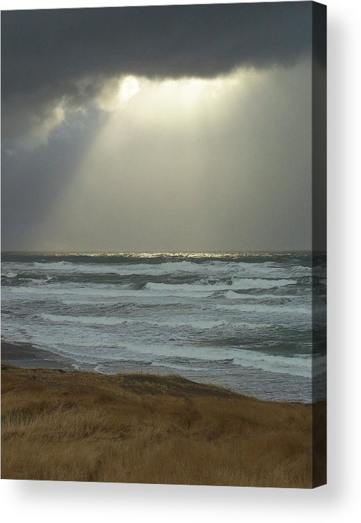 Sun Light Acrylic Print featuring the photograph Sun Whisper by Gene Ritchhart