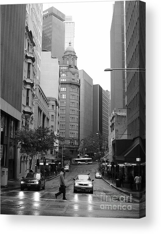 Landscape Acrylic Print featuring the photograph Sydney Australia by Terry Burgess
