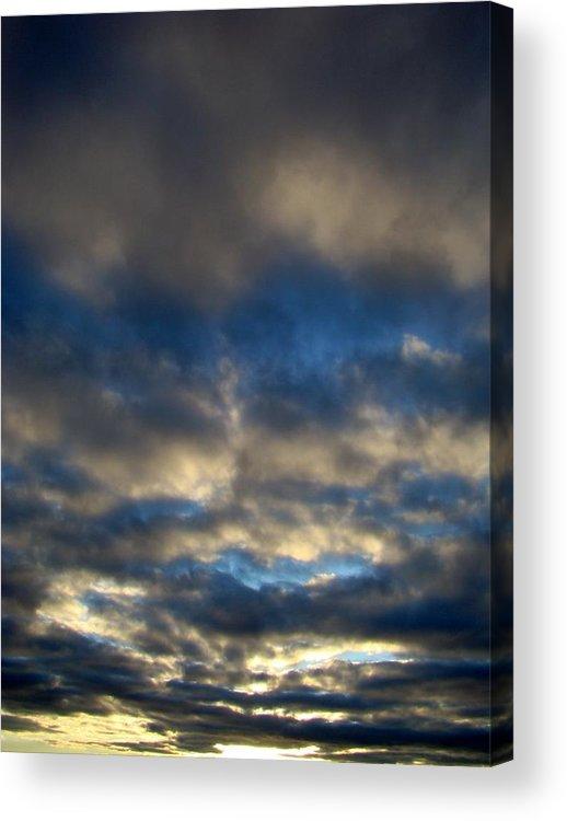 Sunset Acrylic Print featuring the photograph Texas Big Sky Four by Ana Villaronga