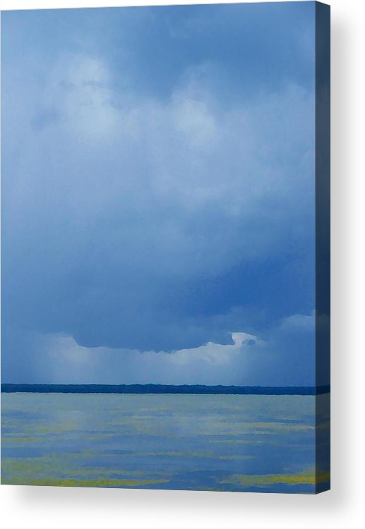 Blues Acrylic Print featuring the photograph The Blues by Judy Waller