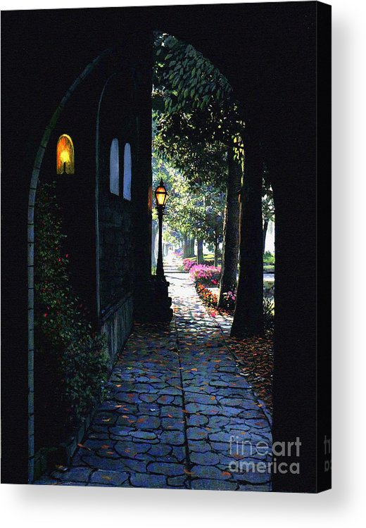 Emergence Acrylic Print featuring the painting The Candle by Robert Foster
