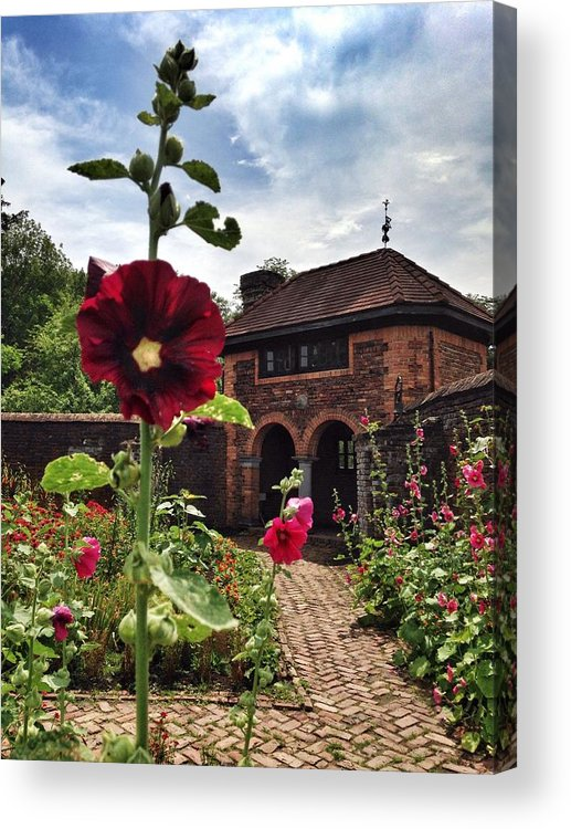 Flowers Acrylic Print featuring the photograph The Kings Gardens by Angela Angermeier