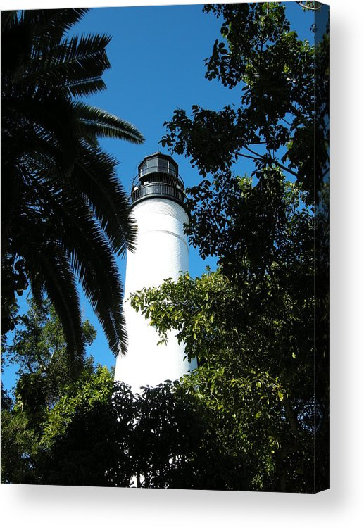 Lighthouse Acrylic Print featuring the photograph The Lighthouse by Audrey Venute