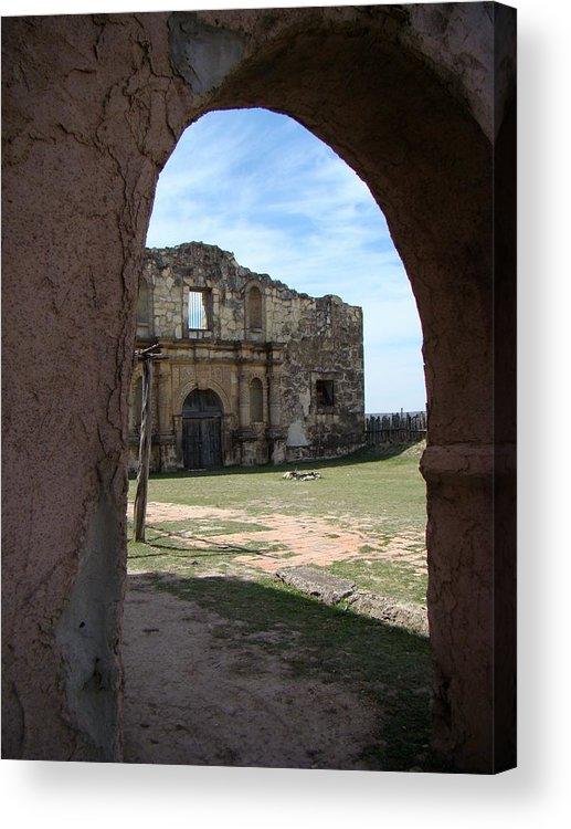 Alamo Acrylic Print featuring the photograph The Other Alamo by Ana Villaronga