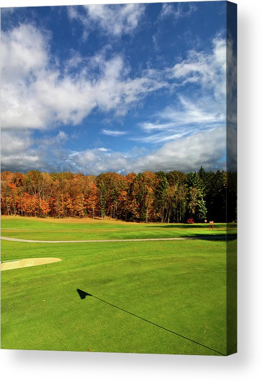Horizons Acrylic Print featuring the photograph The Putting Green by Phil Koch