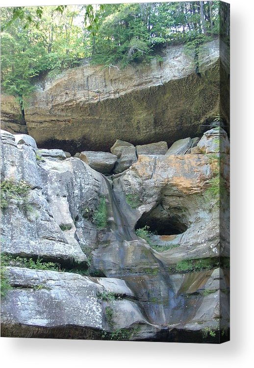 Rocks Acrylic Print featuring the photograph The Rocks by Mindy Newman
