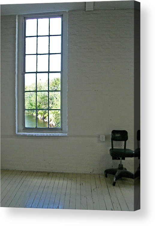 Inerior Acrylic Print featuring the photograph The Studio by Nancy Ferrier