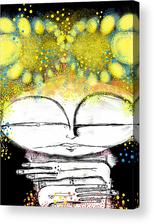 Digital Artwork Acrylic Print featuring the digital art The Summer by Mark M Mellon