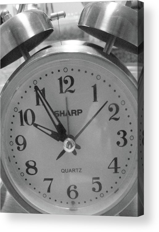 Acrylic Print featuring the photograph Time by Michelle Hoffmann