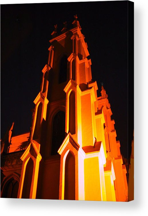 Church Acrylic Print featuring the photograph Trinity by Michele Caporaso