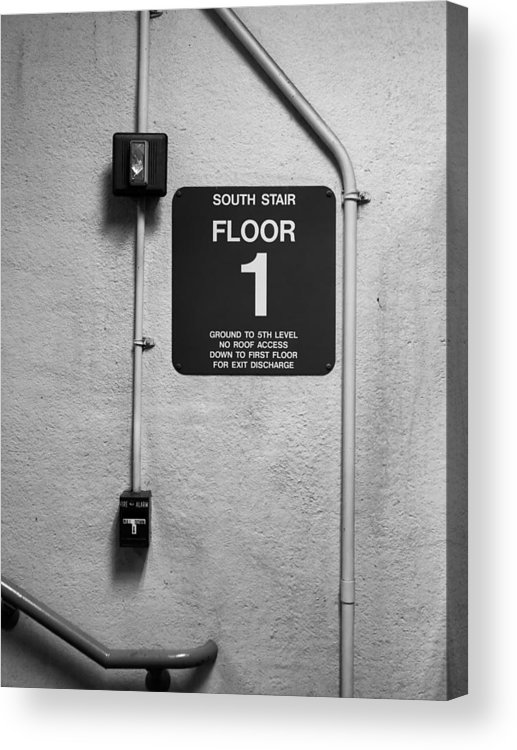Door Acrylic Print featuring the photograph Up To One by Bob Orsillo
