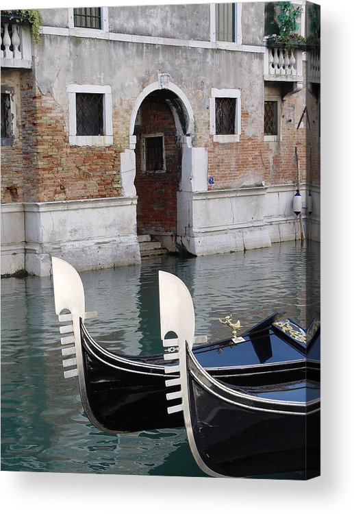 Italy Acrylic Print featuring the photograph Visions Of Venice 3. by Nancy Bradley