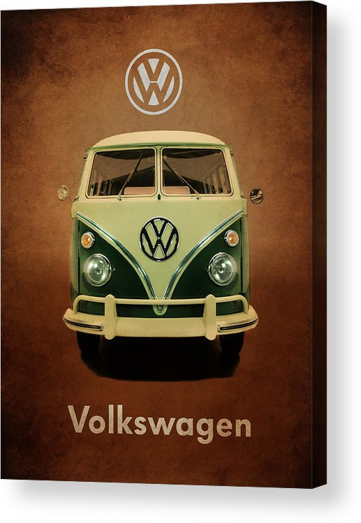 Volkswagen Acrylic Print featuring the photograph Volkswagen T1 1963 by Mark Rogan