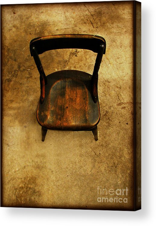 Alone Acrylic Print featuring the photograph Waiting To Say Goodbye by Dana DiPasquale