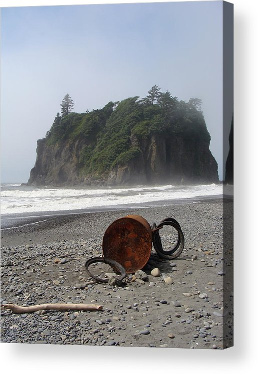 Nature Acrylic Print featuring the photograph Washed Up by Ty Nichols