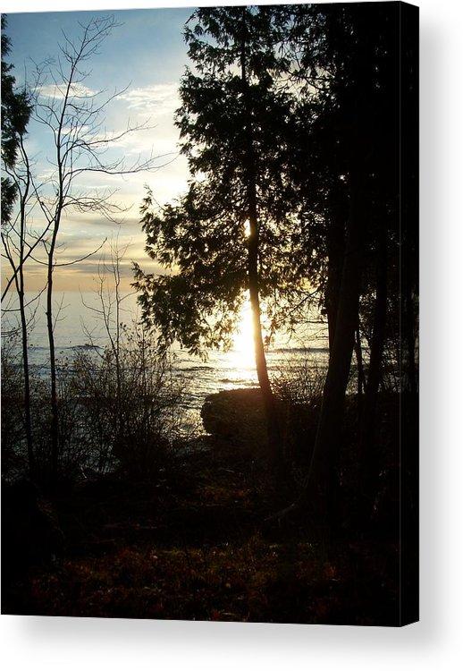 Washington Island Acrylic Print featuring the photograph Washington Island Morning 2 by Anita Burgermeister