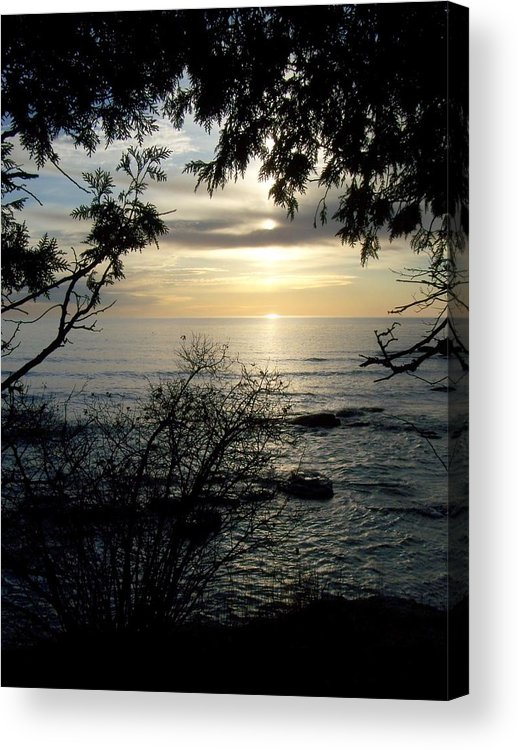 Washington Island Acrylic Print featuring the photograph Washington Island Morning 4 by Anita Burgermeister