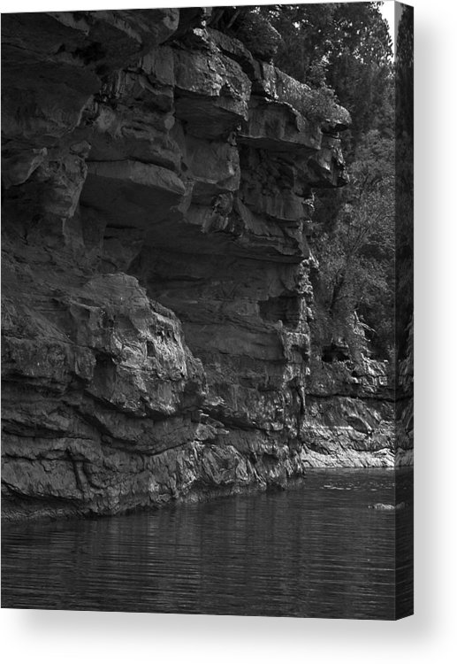 Acrylic Print featuring the photograph West-fork White River by Curtis J Neeley Jr