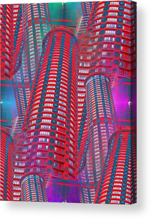 Seattle Acrylic Print featuring the photograph Westin Seattle by Tim Allen