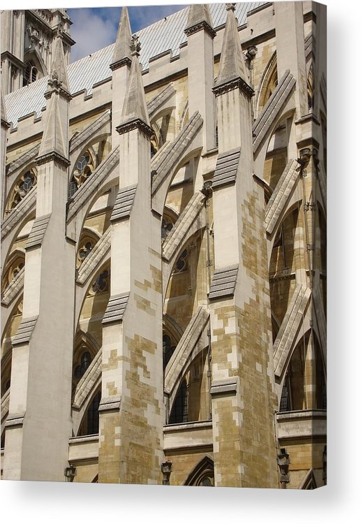 Acrylic Print featuring the photograph Westminster Abbey by Kimberly Hill
