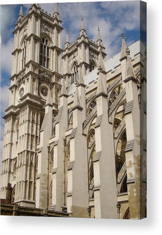 Westminster Abbey Acrylic Print featuring the photograph Westminster by Kimberly Hill