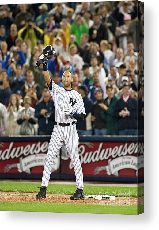 People Acrylic Print featuring the photograph Mlb Sep 11 Orioles At Yankess - Derek 3 by Icon Sports Wire