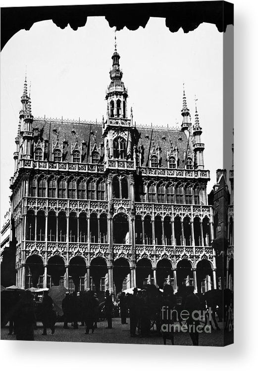 15th Century Acrylic Print featuring the photograph Grand Palace, Brussels by Granger