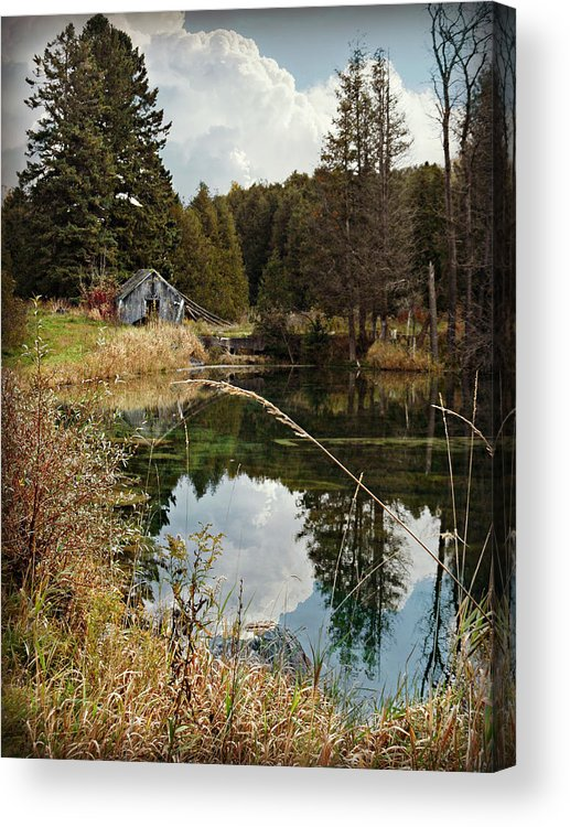 Horning's Home Acrylic Print featuring the photograph Horning's Home by Cyryn Fyrcyd