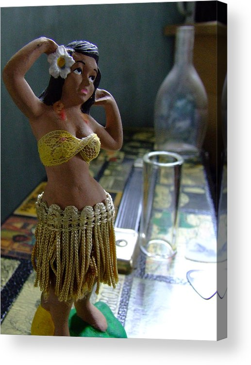 Hula Dancer Acrylic Print featuring the photograph I Feel Pretty by Everett Bowers