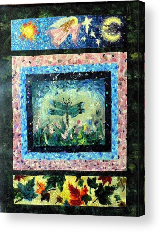 Acrylic Acrylic Print featuring the painting Journey by Cynthia Ann Swan