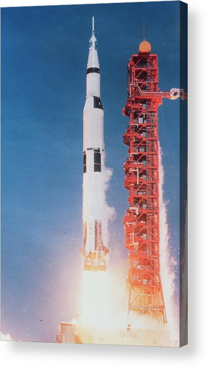 Apollo 11 Acrylic Print featuring the photograph Launch Of Apollo 11 by Nasa/science Photo Library