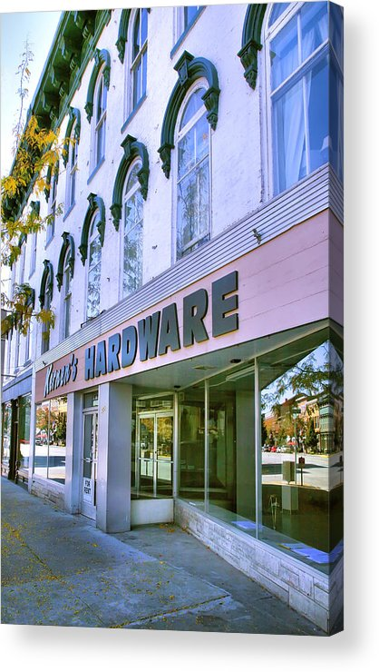 Shop Acrylic Print featuring the photograph Madison Shops I by Steven Ainsworth