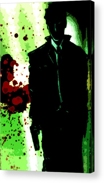 Paintings/graphic Art Acrylic Print featuring the painting Guilty by Jeff DOttavio