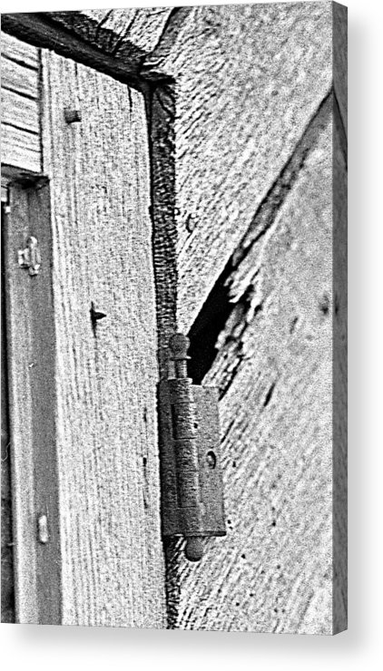 Ansel Adams Acrylic Print featuring the photograph Hinge by Curtis J Neeley Jr