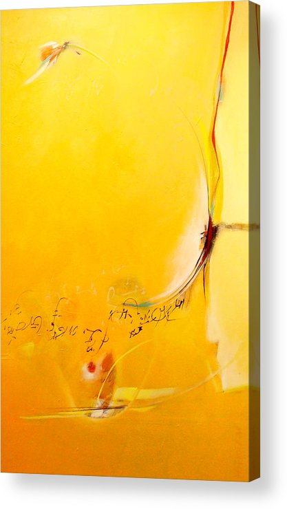 Absrtact Acrylic Print featuring the digital art Inhale by Dale Witherow