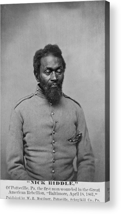 History Acrylic Print featuring the photograph Nicholas Biddle, An African American by Everett