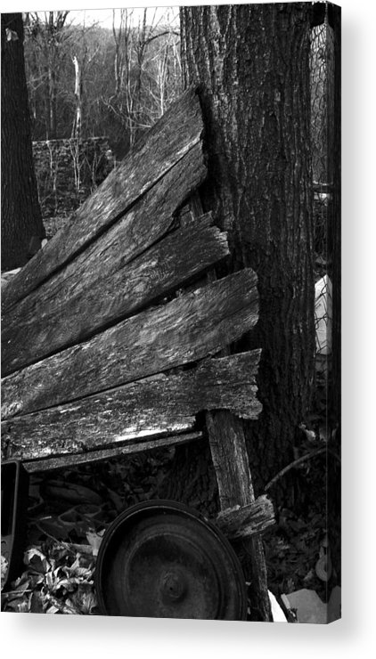 Acrylic Print featuring the photograph Olddoornextdoor21-23 by Curtis J Neeley Jr
