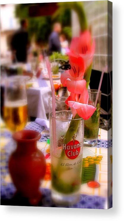 Cuba Acrylic Print featuring the photograph Sweet Havana by Karen Wiles
