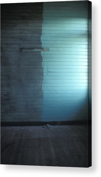 Chile Acrylic Print featuring the photograph Two Tone Wall by Marcus Best