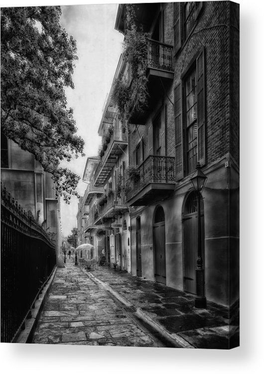 New Orleans Acrylic Print featuring the photograph Pirate's Alley In New Orleans by Mountain Dreams