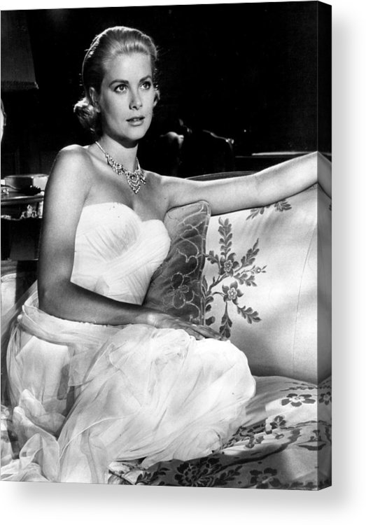 Retro Images Archive Acrylic Print featuring the photograph Grace Kelly Looking Gorgeous by Retro Images Archive