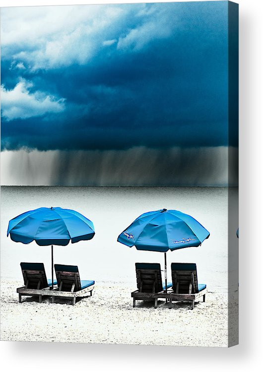 Storm Acrylic Print featuring the photograph All Storms Pass by Stephen Warren