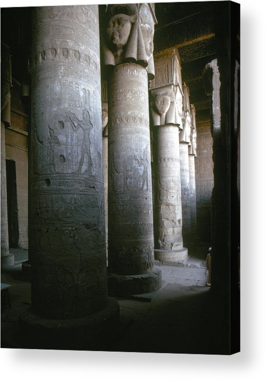 1st Century B.c. Acrylic Print featuring the photograph Egypt: Temple Of Hathor by Granger