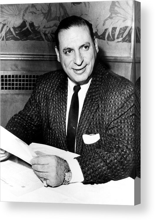 1950s Acrylic Print featuring the photograph Irv Kupcinet, Circa 1950s by Everett