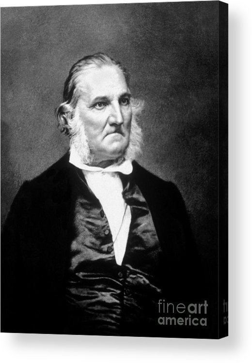 History Acrylic Print featuring the photograph John James Audubon, French-american by Science Source