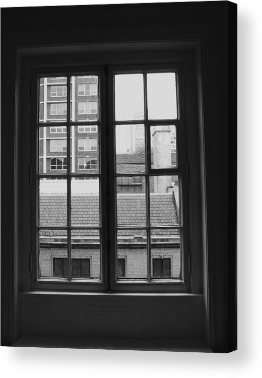 Window Acrylic Print featuring the photograph Lots Of Lines by Anna Villarreal Garbis