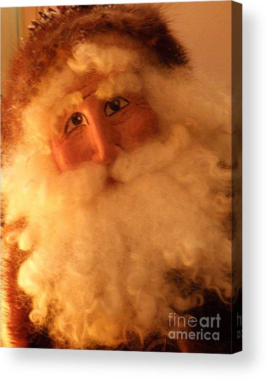 Santa Acrylic Print featuring the photograph Santa by Lainie Wrightson